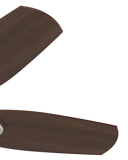 52106 ビルダ-スモールルーム ブラシドニッケル 42インチ HunterFan ハンターシーリングファン画像 正規輸入販売ハンターストア㈱