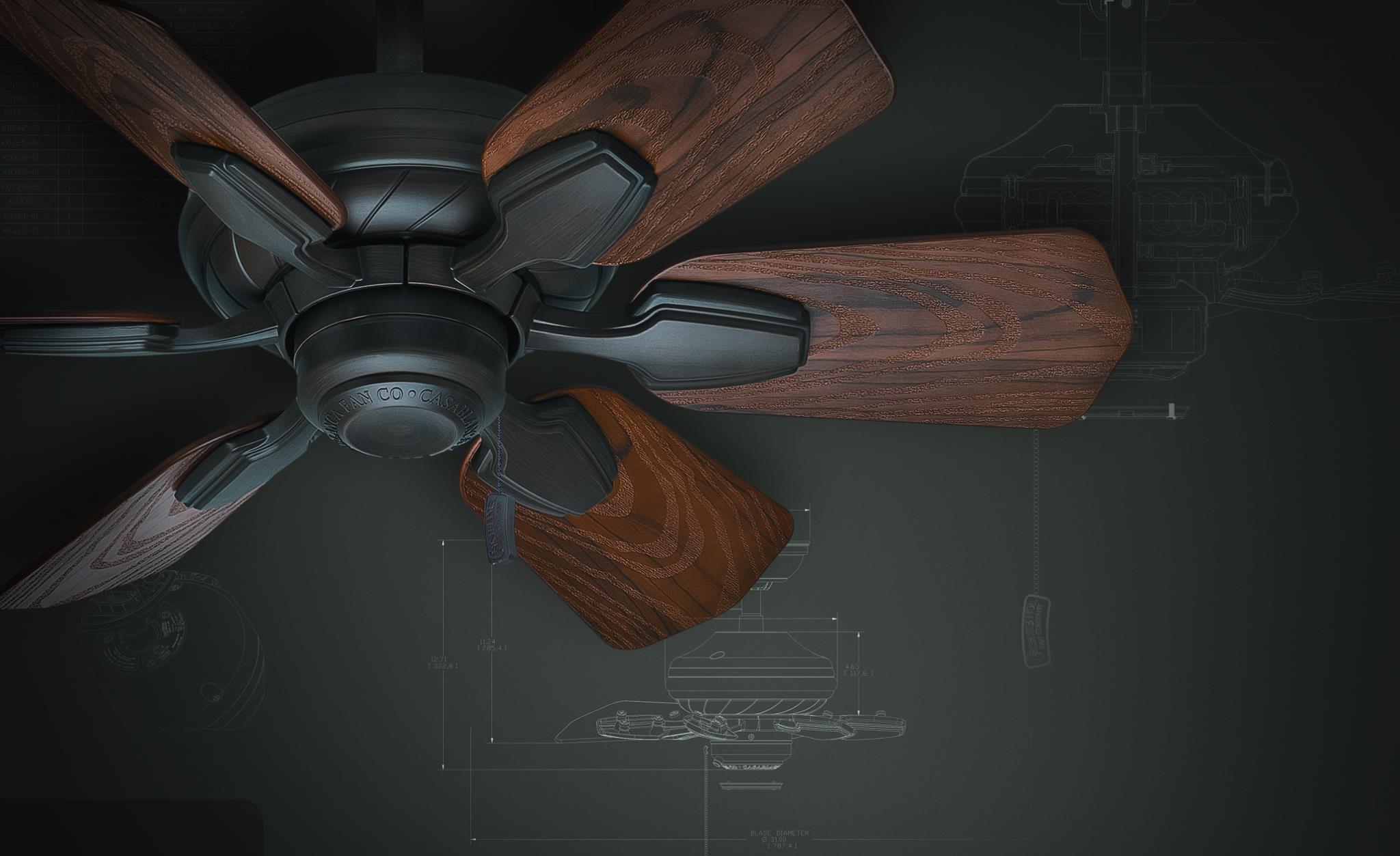 カサブランカ シーリングファン ワイレア 羽根直径79cm (メーカーお取寄せモデル)