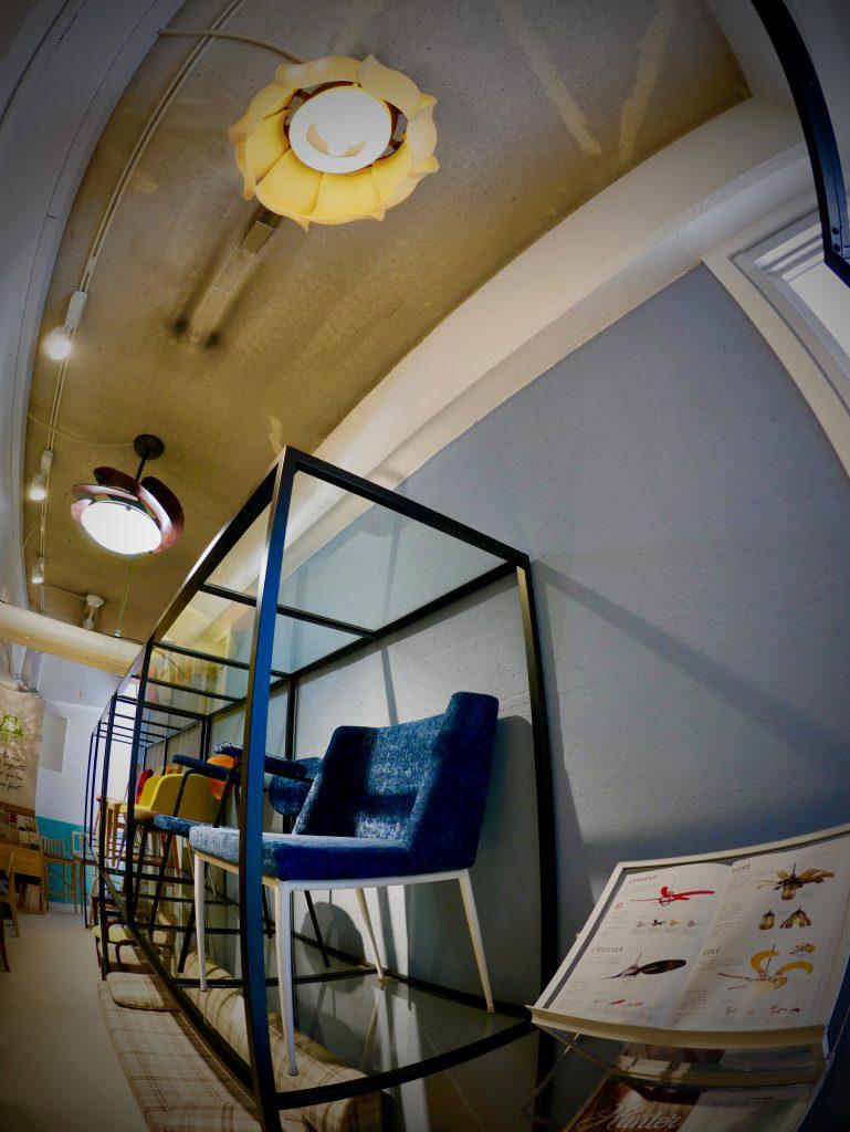 フィオーレ VENTO ヴェント シーリングファン画像 正規輸入販売 ハンターストア東京ショールーム