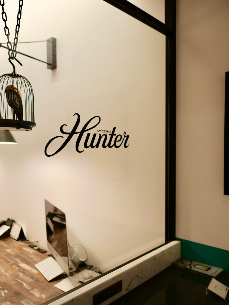 東京ショールーム ハンター カサブランカ シーリングファン画像 Hunter正規輸入品販売ハンターストア㈱