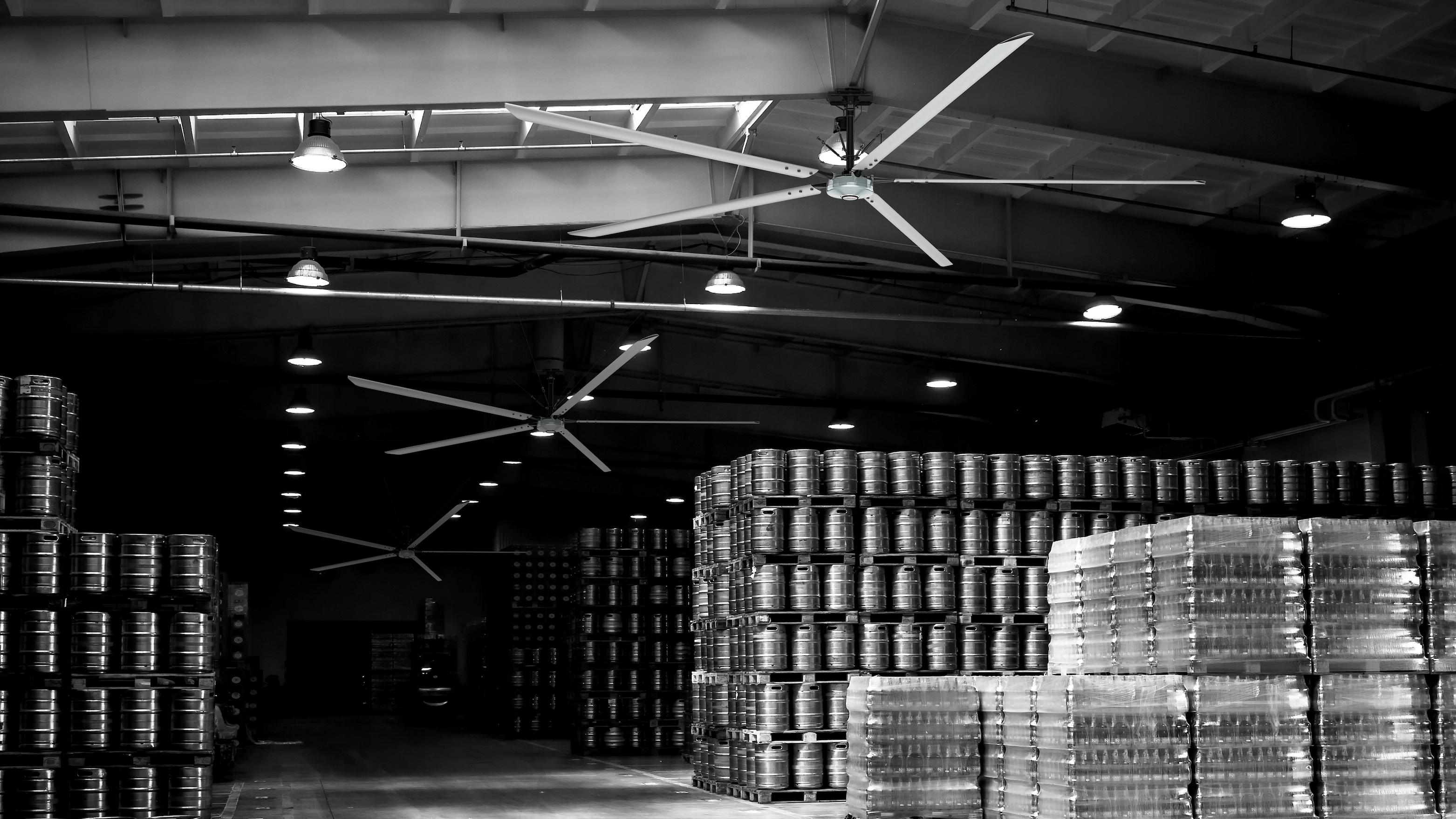 インダストリアルシリーズ 大型倉庫 工場向け Hunterfan ハンター カサブランカ シーリングファン画像 Hunter正規輸入品販売ハンターストア㈱ オフシャルサイト