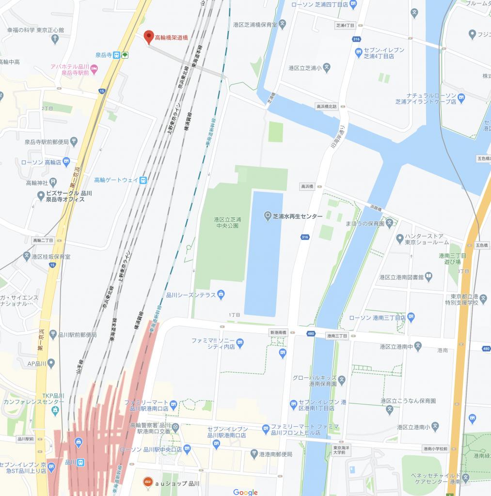 東京ショールーム 地図
